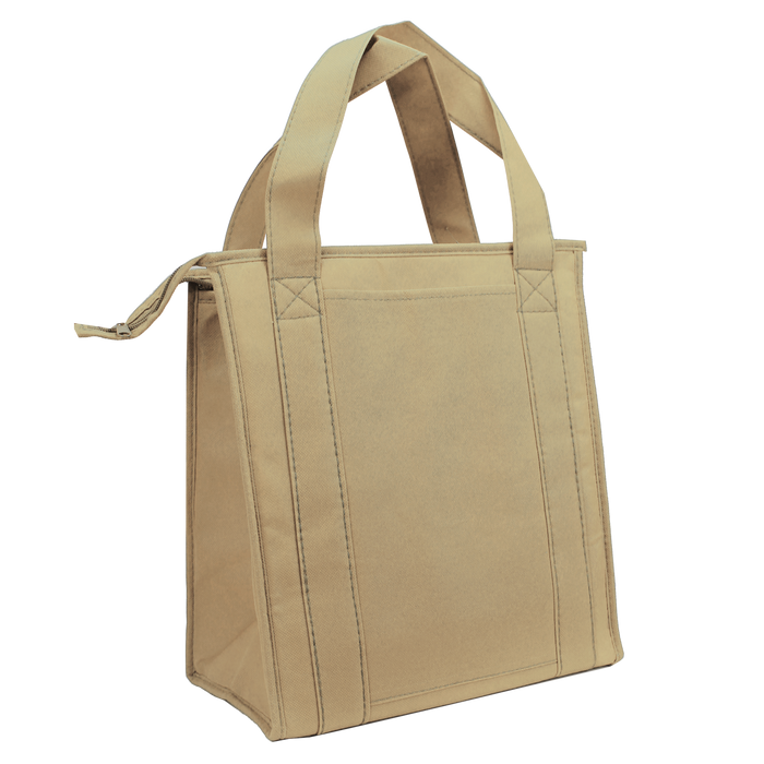 Light Khaki Standard Insulated Cooler Tote