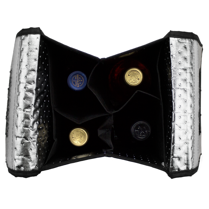 Insulated 4 Bottle Wine Bag