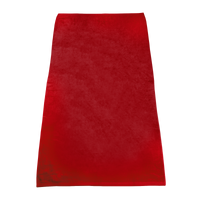 Red Classic Color Beach Towel Thumb