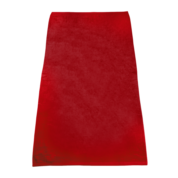 Red Classic Color Beach Towel