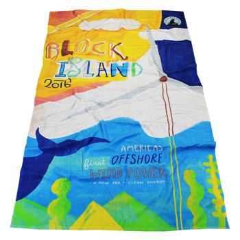 Large Full Color Heavyweight Beach Towel