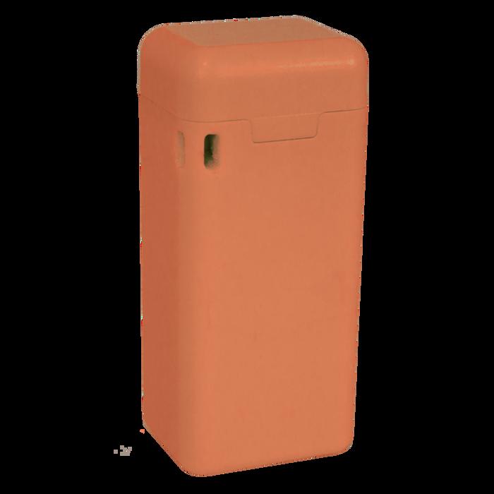 Peach Reusable Straw with Custom Case