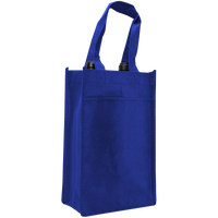 Royal Blue 2 Bottle Wine Tote Thumb