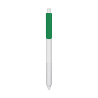 Green with Blue Ink Antibacterial Pen Thumb
