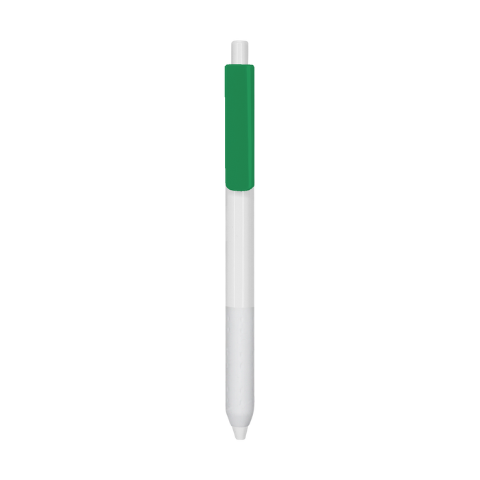 Green with Blue Ink Antibacterial Pen
