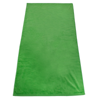 Lime Green Gypsea Color Beach Towel Thumb