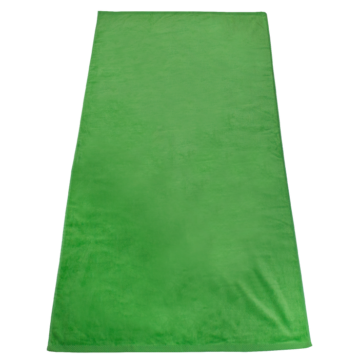 Lime Green Gypsea Color Beach Towel