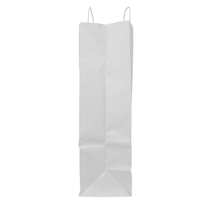 Tall White Paper Bag