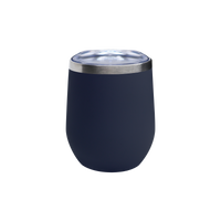 Matte Navy Vacuum Insulated Stemless Wine Tumbler Thumb
