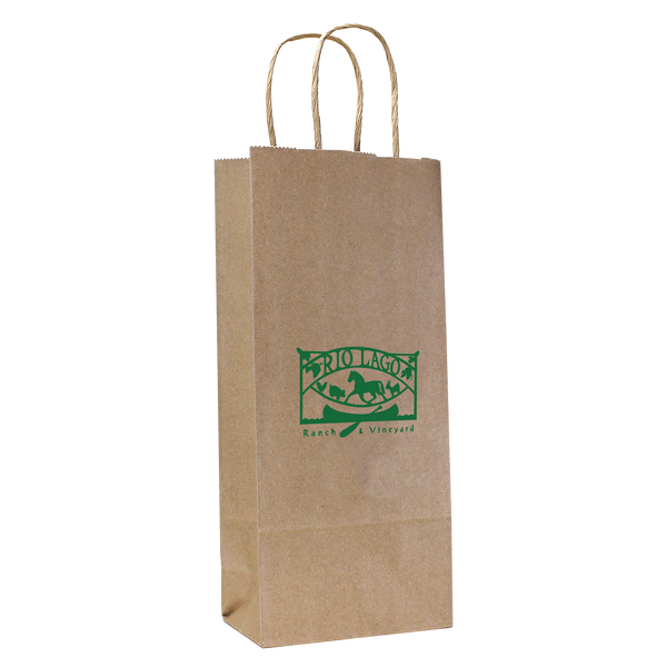paper bags,  wine totes,