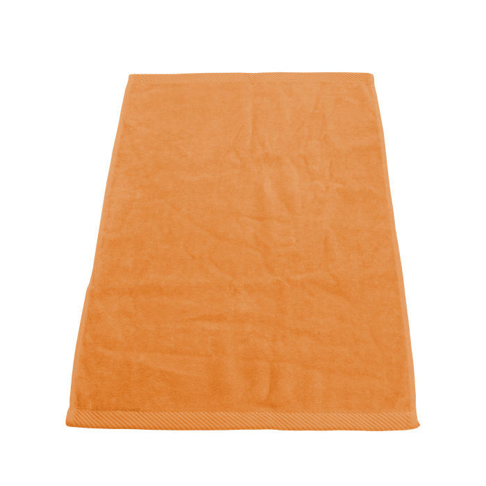 Tangerine Ultraweight Colored Fitness Towel