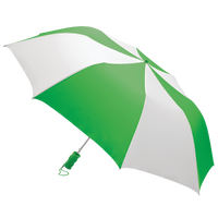 Kelly Green/White Classic Umbrella Thumb
