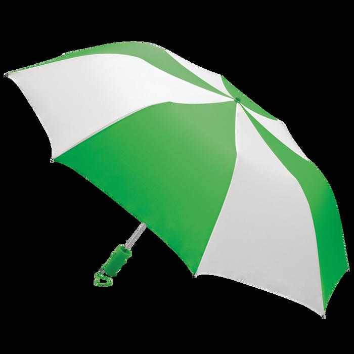 Kelly Green/White Classic Umbrella