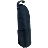 Black Insulated 1 Bottle Wine Bag Thumb