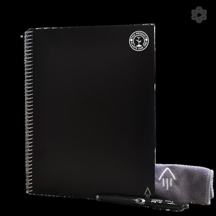 Black #OneTreePlanted Rocketbook Fusion Letter