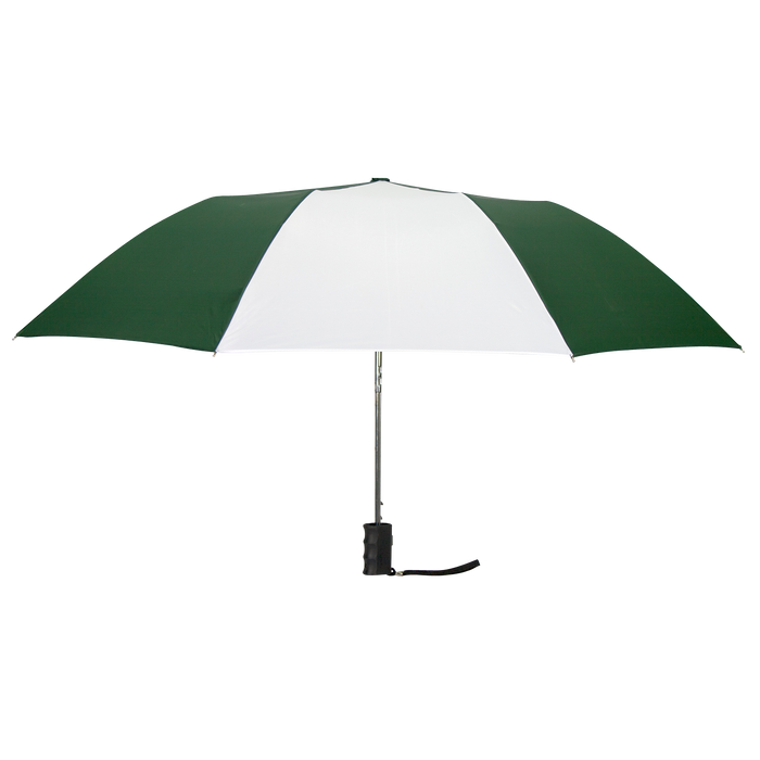 Hunter/White Budget Umbrella