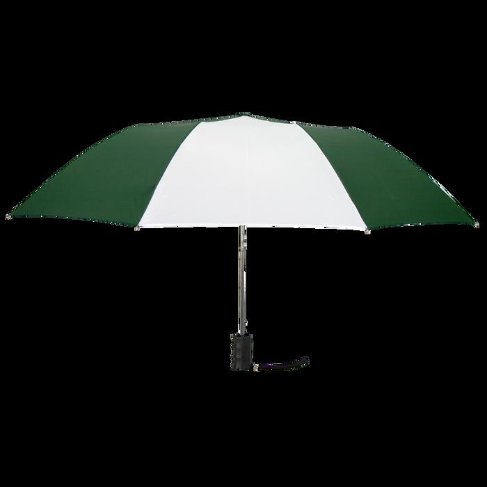 Hunter/White Budget Umbrella