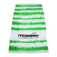 Tie-Dye Striped Beach Towel Thumb