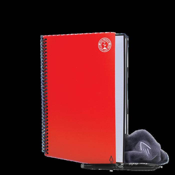 Red #OneTreePlanted Rocketbook Core Executive (Everlast)