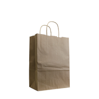 Natural Small Kraft Paper Shopper Bag Thumb