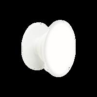 Light Gray & White PopSocket Phone Grip  Thumb