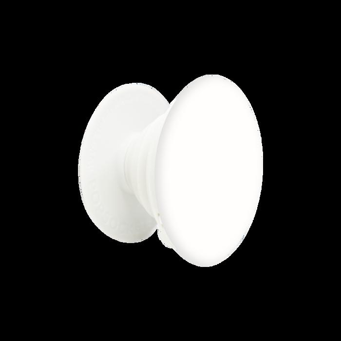 Light Gray & White PopSocket Phone Grip