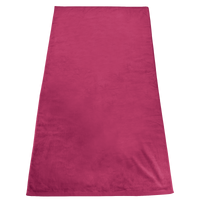 Fuchsia Gypsea Color Beach Towel Thumb