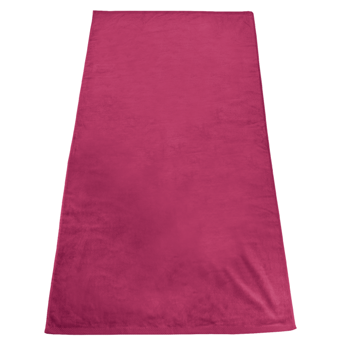 Fuchsia Gypsea Color Beach Towel