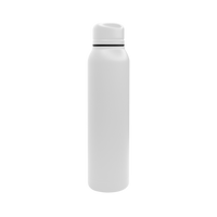 Matte White Vacuum Insulated Thermos Thumb