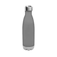 Matte Grey Vacuum Insulated Thermal Bottle Thumb
