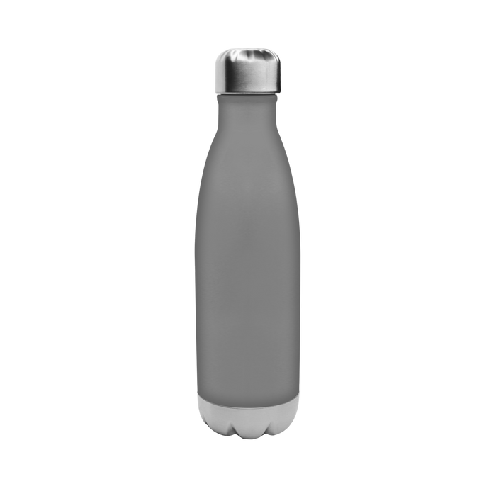 Matte Grey Vacuum Insulated Thermal Bottle