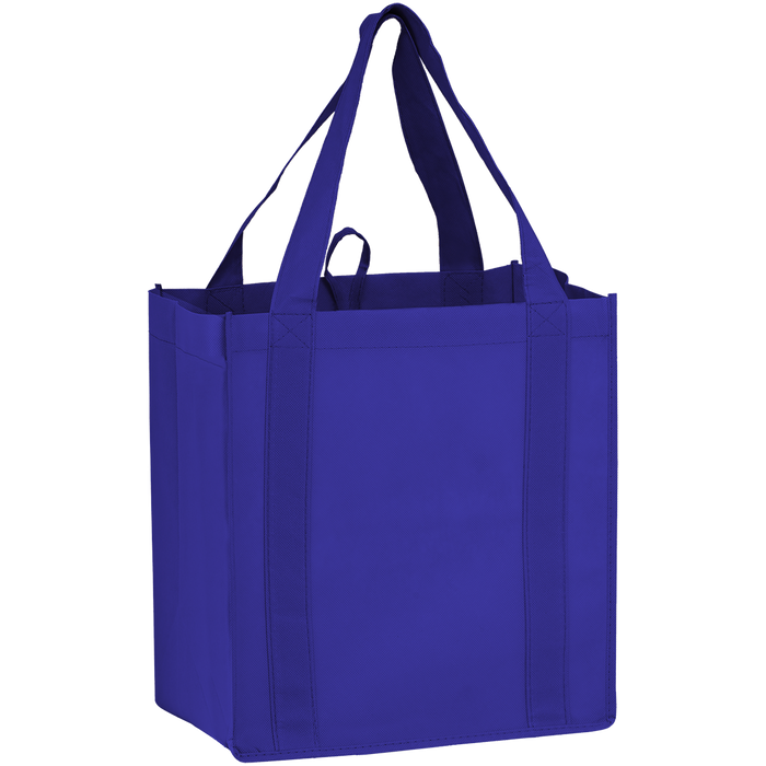 Royal Blue Little Storm Grocery Bag