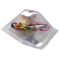 Small Recyclable Die Cut Plastic Bag Thumb