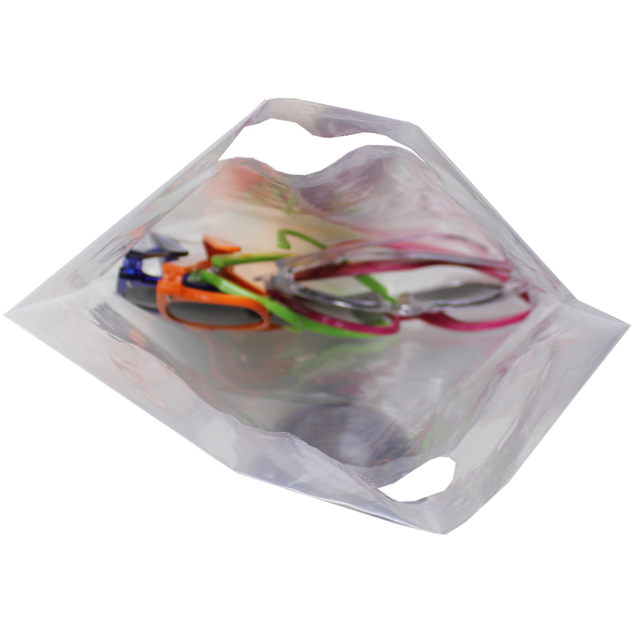 Small Recyclable Die Cut Plastic Bag