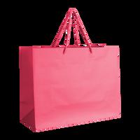 Pink Medium Matte Shopper Bag Thumb