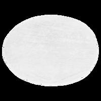 White Classic White Round Beach Towel Thumb