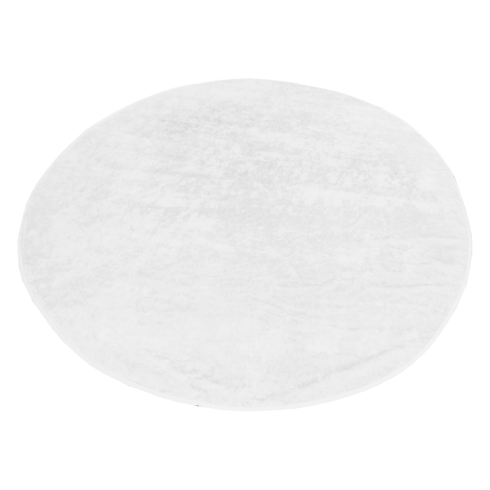 White Classic White Round Beach Towel