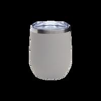 Matte Stone Vacuum Insulated Stemless Wine Tumbler Thumb