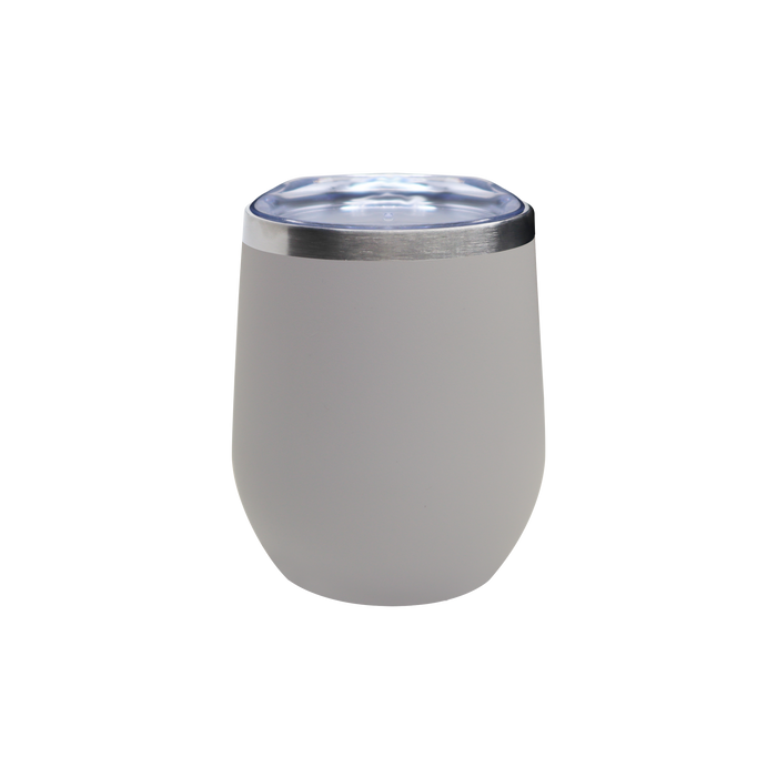 Matte Stone Vacuum Insulated Stemless Wine Tumbler
