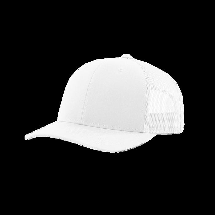 White Richardson Trucker Snapback Hat