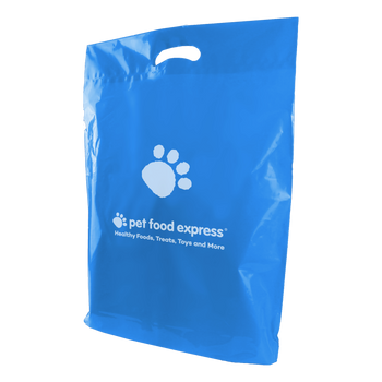 Large Die Cut Plastic Bag