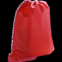 Red Classic Drawstring Backpack Thumb