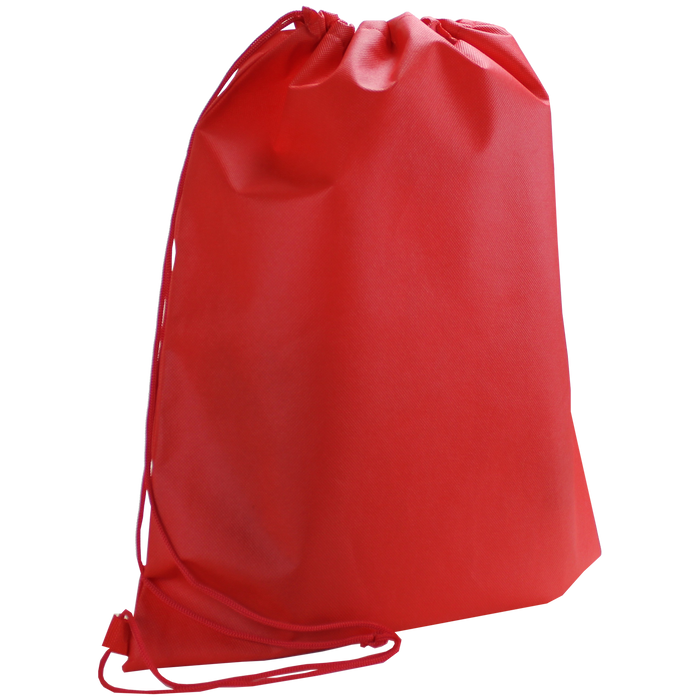 Red Classic Drawstring Backpack