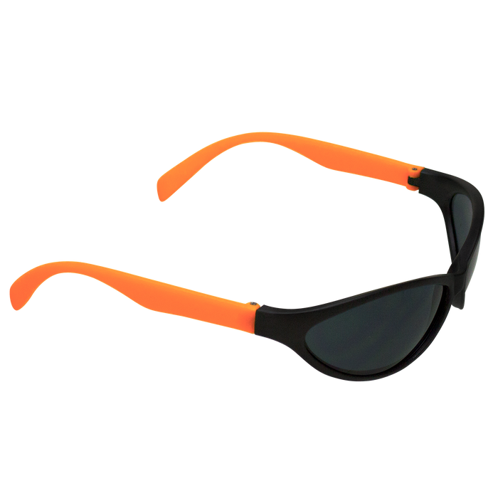 Neon Orange Value Sport Sunglasses