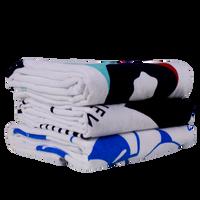 Classic White Beach Towel Thumb