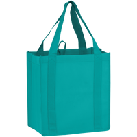 Teal Little Storm Grocery Bag Thumb