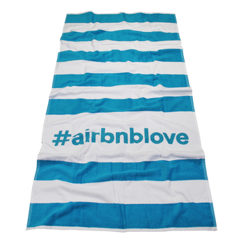 Horizon Striped Beach Towel
