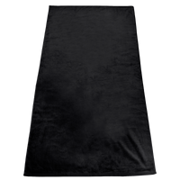 Black Gypsea Color Beach Towel Thumb