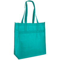 Teal Little Tex Grocery Bag Thumb