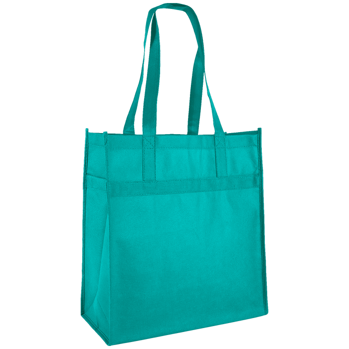 Teal Little Tex Grocery Bag